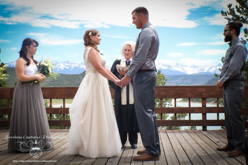 Ceremony in Ouray CO