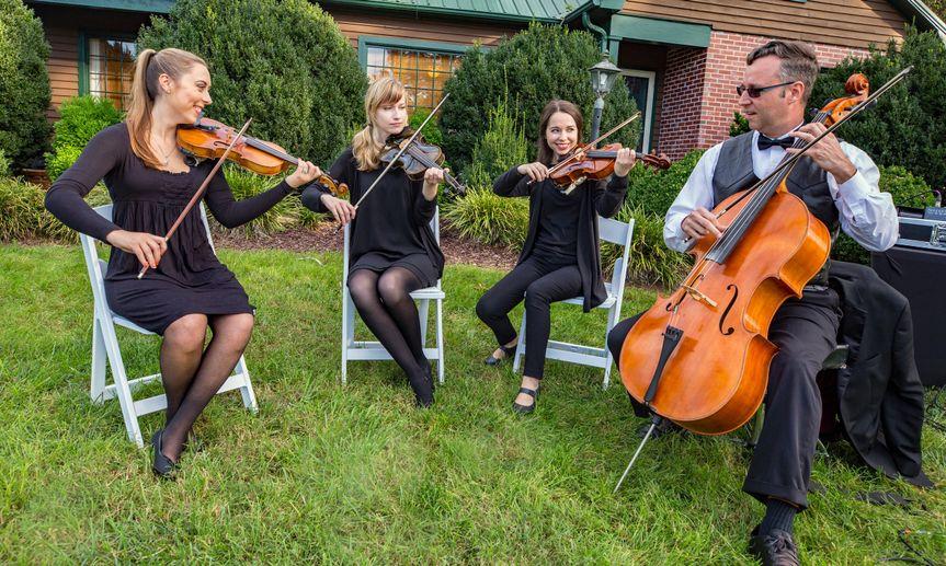 Quartet No Music stands