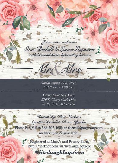 Wedding Shower Invitation
