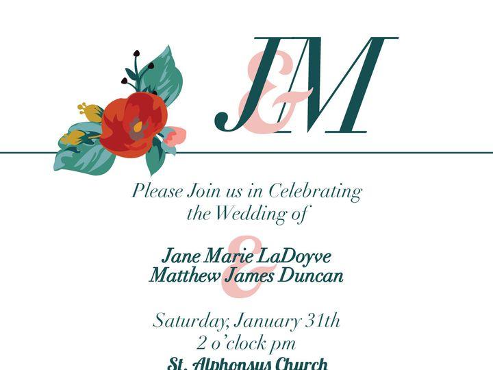 Tmx 1425049312198 Jminvite 01 Grand Rapids, MI wedding invitation