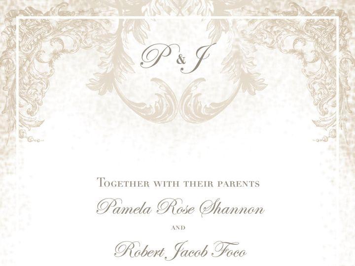 Tmx 1425049342500 Shannon Focofinal Grand Rapids, MI wedding invitation
