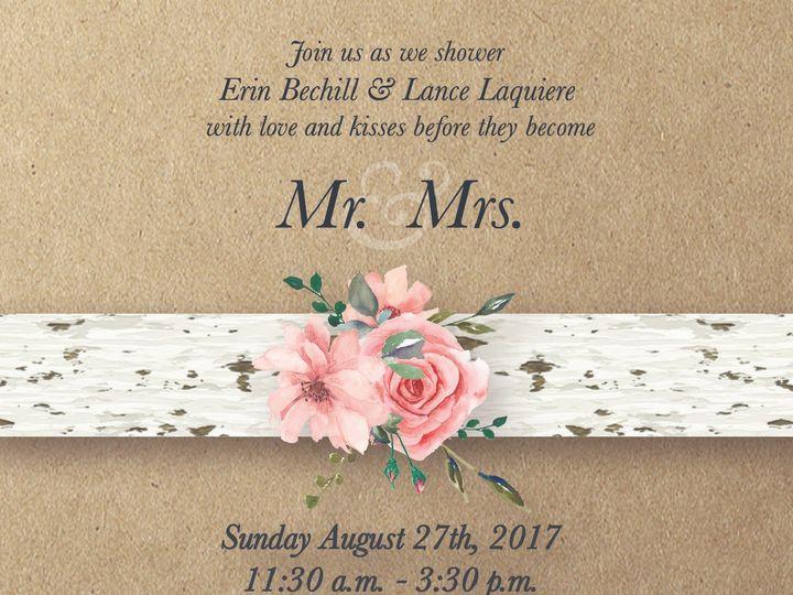 Tmx Erinlance 03 01 51 743487 157538551644860 Grand Rapids, MI wedding invitation