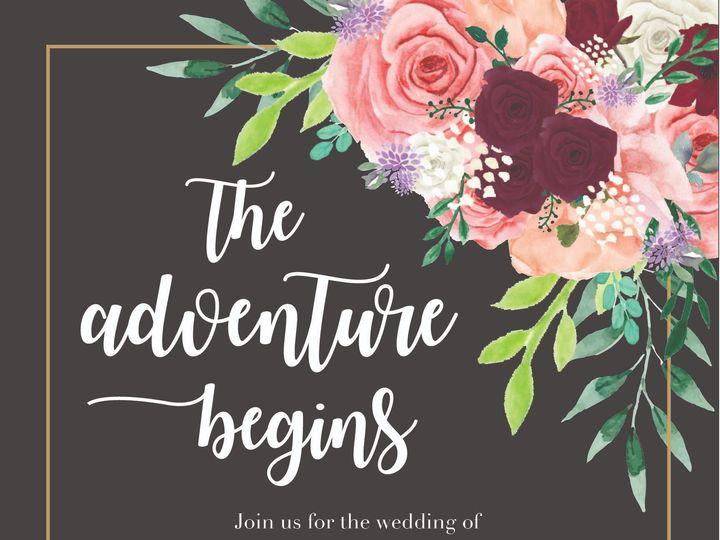 Tmx Wedding Invite El 01 2 51 743487 157538551870936 Grand Rapids, MI wedding invitation