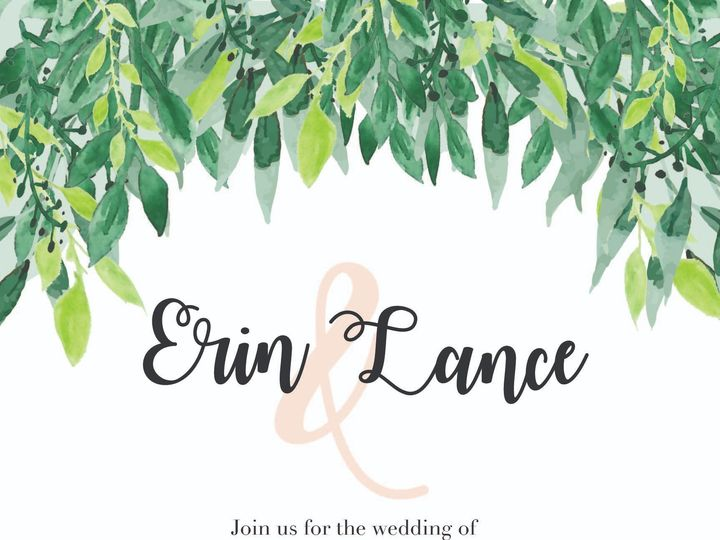 Tmx Wedding Invite El 03 2 51 743487 157538552123480 Grand Rapids, MI wedding invitation
