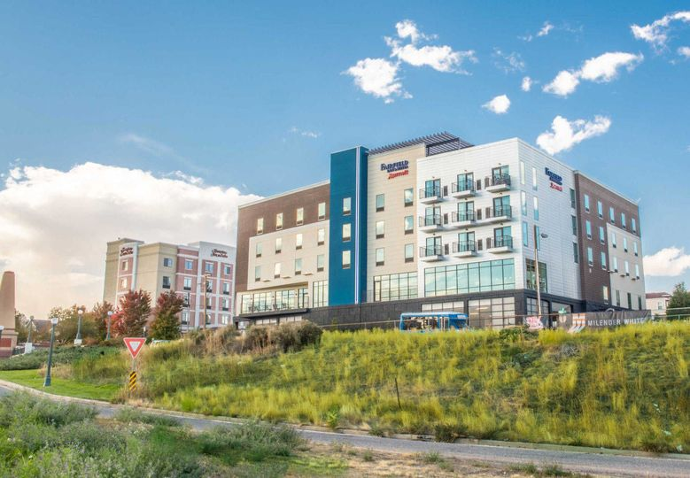 Exterior view of the Fairfield Inn and Suites Denver Downtown
