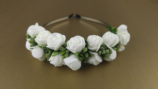floral crownroseylove