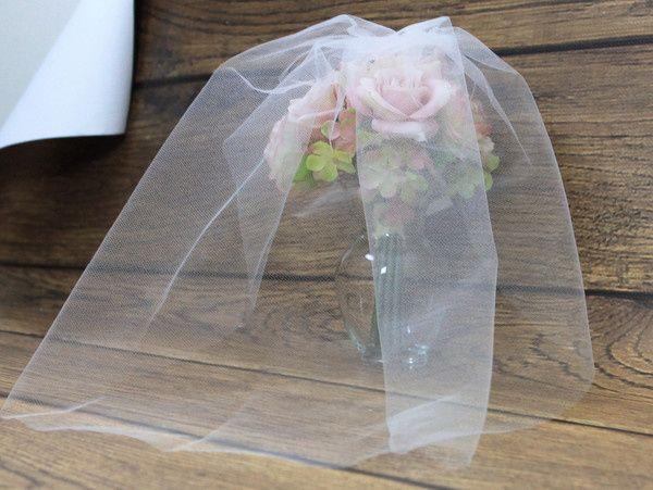 Tmx 1460493354011 Anastasia Veil Petite   Blusher Pic1 Secaucus wedding dress