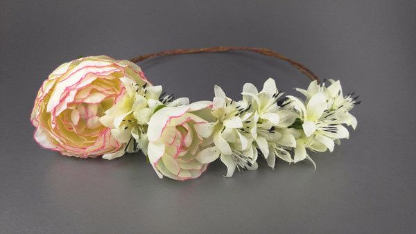 Tmx 1460493462925 Floral Crowndiamondpeach Secaucus wedding dress