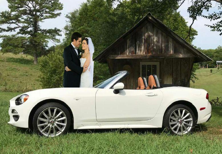 RENT THIS WEDDING CAR!