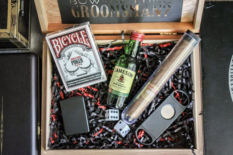 Best Man/Groomsman Gift Box - The Gambler/Vegas Box