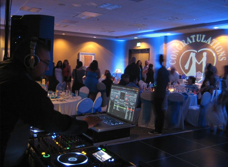 Professional wedding dj/mc