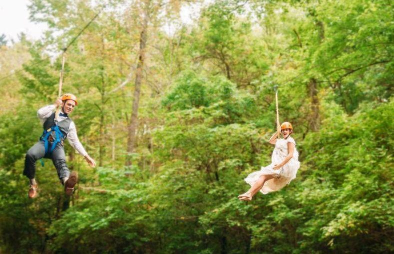 Bride Zipline