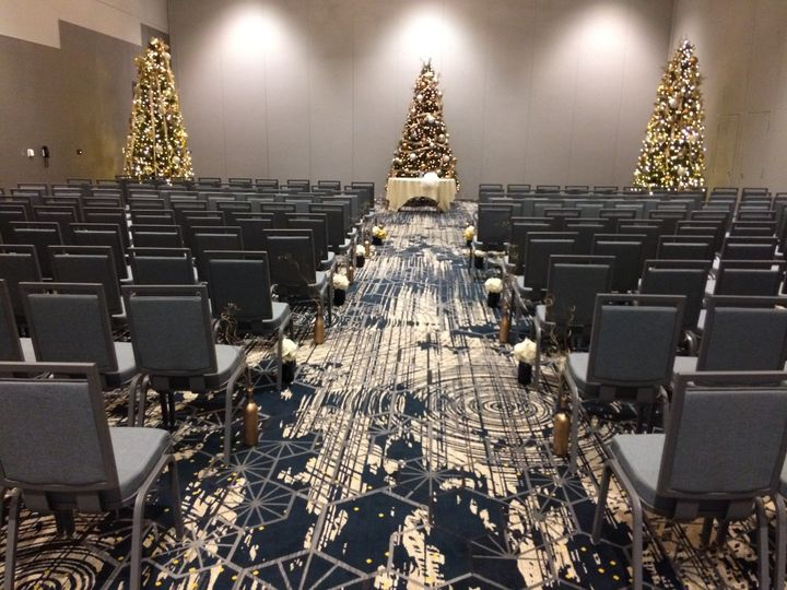Holiday Wedding Ceremony
