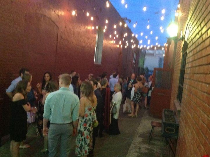 Outdoor Alley reception