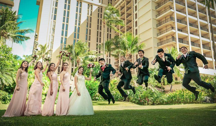 Fun Waikiki Wedding