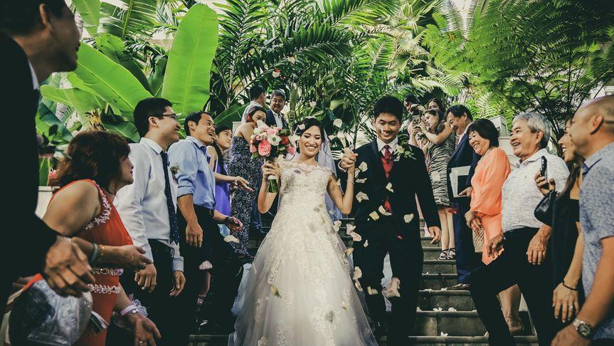 Extravagant Waikiki Wedding