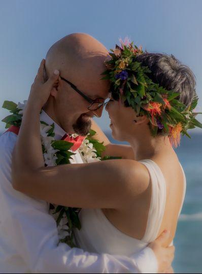 Romance on the beach!