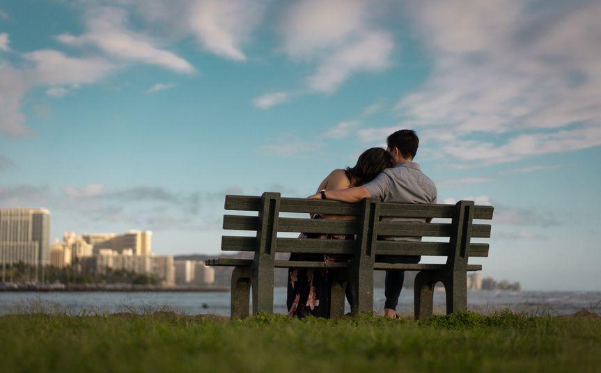 Waikiki Skyline Engagement