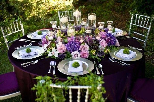 reception table ceremony magazine