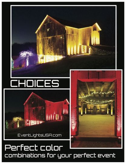 Powerful lighting for brilliant looks boils down to choice. Choose EventLightsUSA.com and we will...