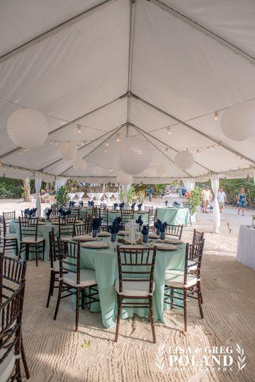Tent Buffet Tables