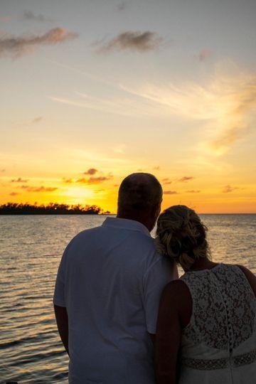 Sunset at Coral Bay Resort