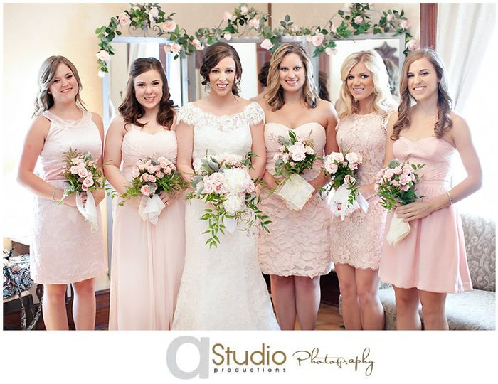 Bridal Party in Crozier House