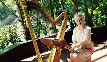 Virginia Schweninger, Harpist