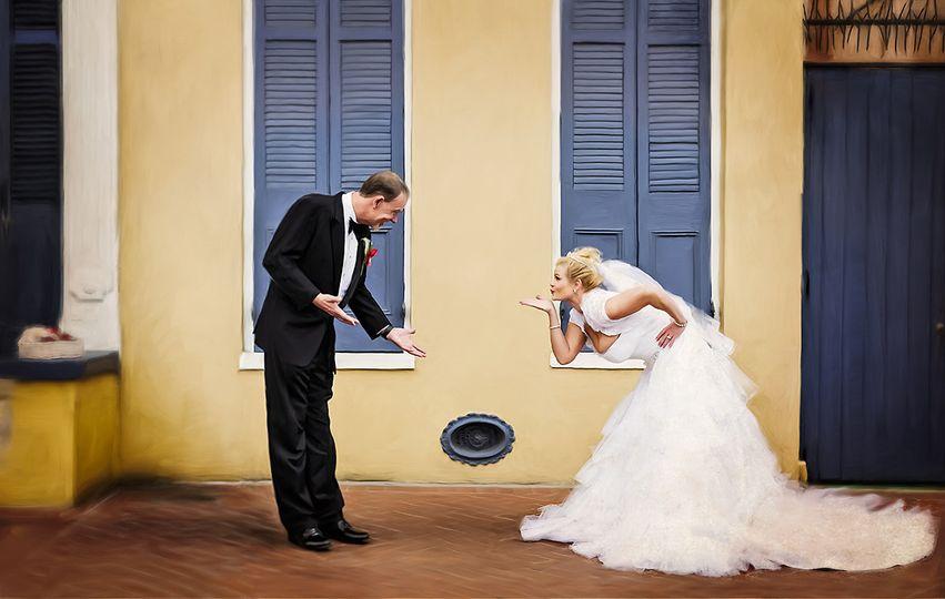 new orleans artistic wedding photographer