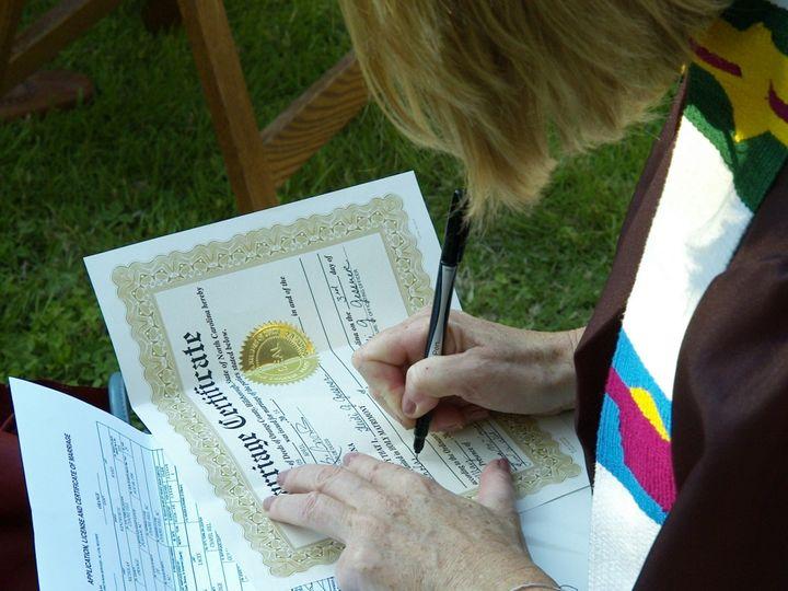 Tmx 1414174084719 Wedding Certificate Durham, NC wedding officiant