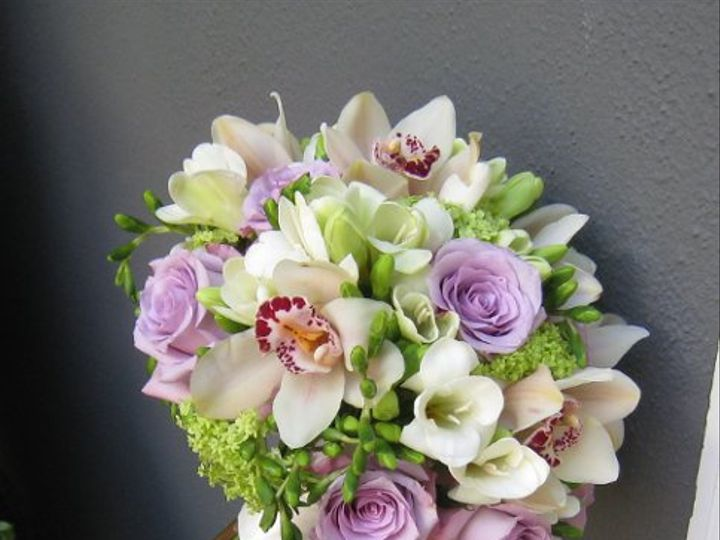 Tmx 1261707738035 Bouquetpurpleandgreenwithorchids Kirkland wedding florist