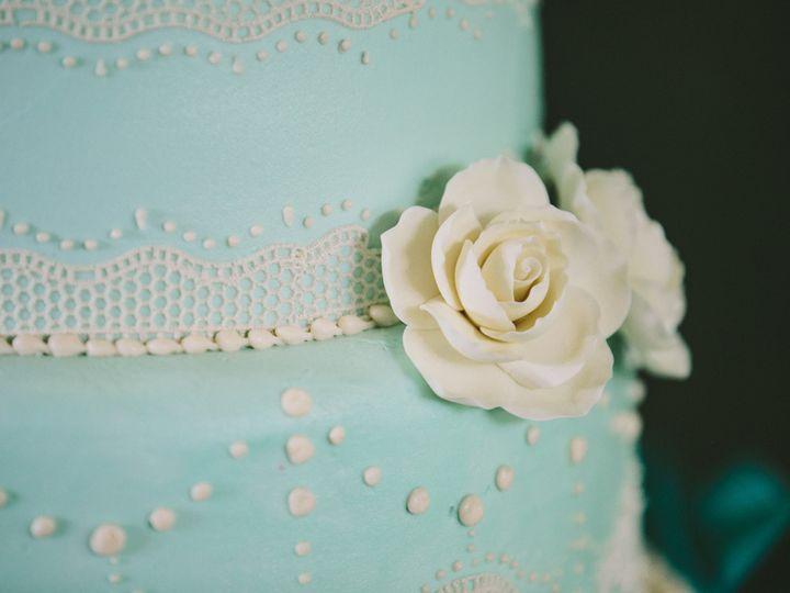Tmx 1474902275000 Close Up Blue Cake Whitewater wedding cake