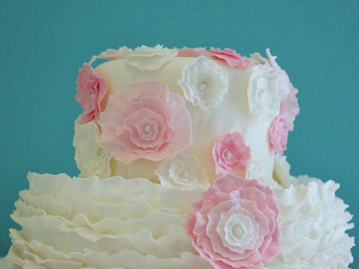Tmx 1474902331397 Pink And Blue Whitewater wedding cake