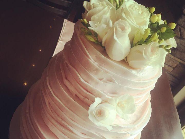 Tmx 1474902349057 Ruffle Wedding Cake Whitewater wedding cake