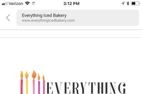 Everything Iced Cupcakes & More