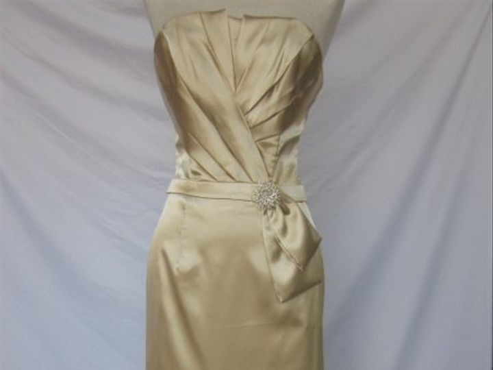 Tmx 1318703584122 CHA705GOLD Santa Rosa wedding dress