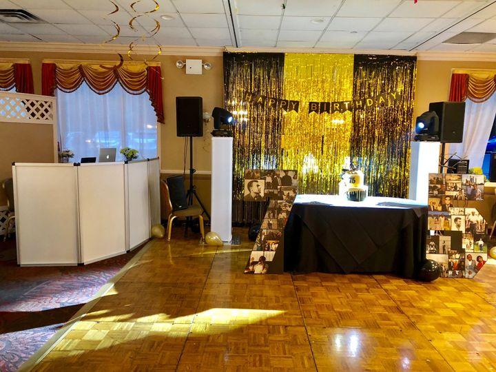 Anniversary setup