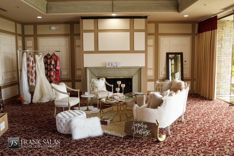 Luxurious bridal suite