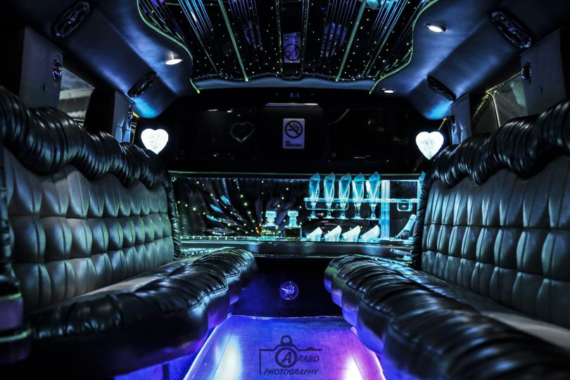 Black leather limos