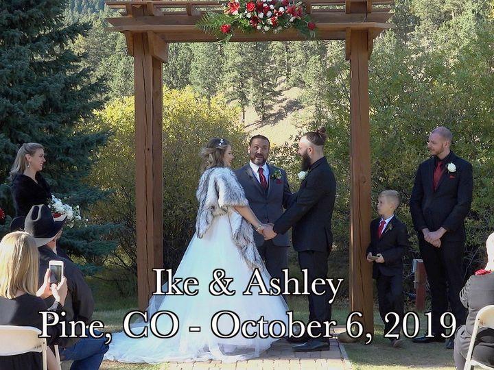 Tmx Ike And Ashley Wedding Thumbnail 51 1106587 157782664224976 Aurora, CO wedding videography