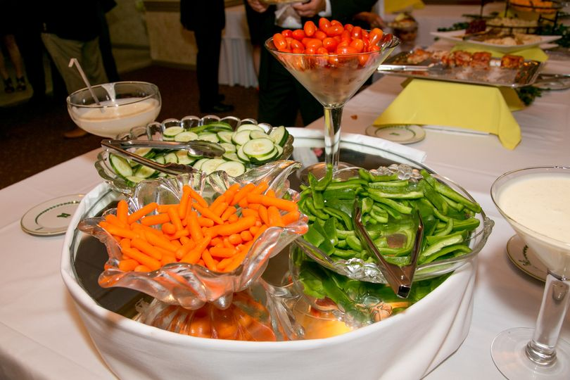 Fresh Vegetables and Dip