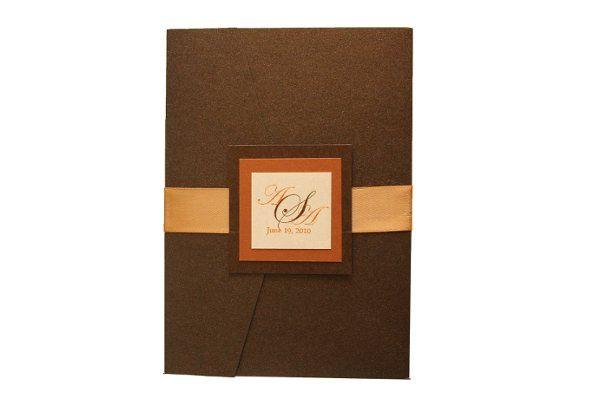 Tmx 1228846084366 5x7Azalea Bronze Freeport wedding invitation