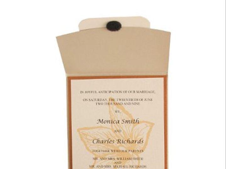 Tmx 1228846091381 5x7RoseOpen Champagne Freeport wedding invitation