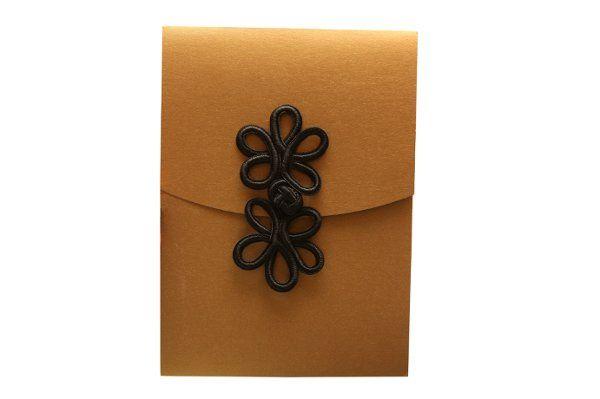 Tmx 1228846109241 5x7Rosewithfrogclosure AntiqueGold Freeport wedding invitation