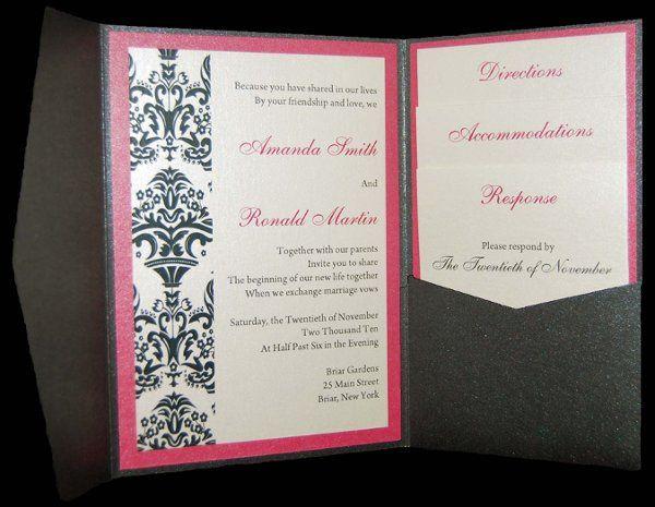 Tmx 1259861442143 Damask1 Freeport wedding invitation