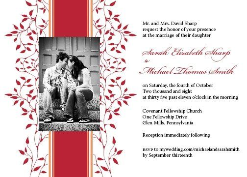 Tmx 1223493484547 Invitation Final S M Media wedding invitation