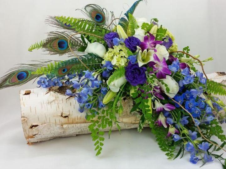Tmx 1459574081288 Bb1186 Enchanted Forest Wedding Bouquet Oregon City, OR wedding florist