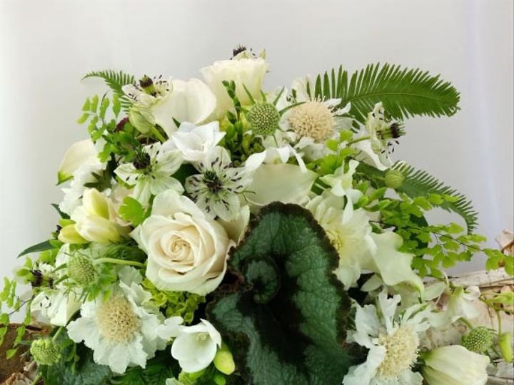 Tmx 1459575395175 Bb1129 Cascading White And Green Woodland Wedding  Oregon City, OR wedding florist