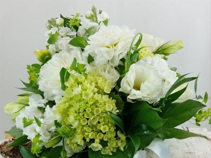 Tmx 1459575404971 Bb1182 Elegant Summer White And Green Garden Bouqu Oregon City, OR wedding florist