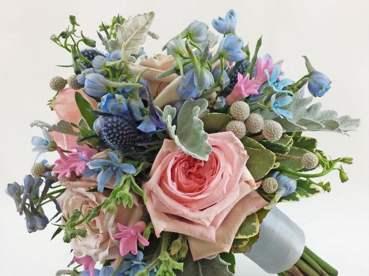 Tmx 1459655795607 Bb0934 Pale Pinks And Blues Vintage Garden Bouquet Oregon City, OR wedding florist